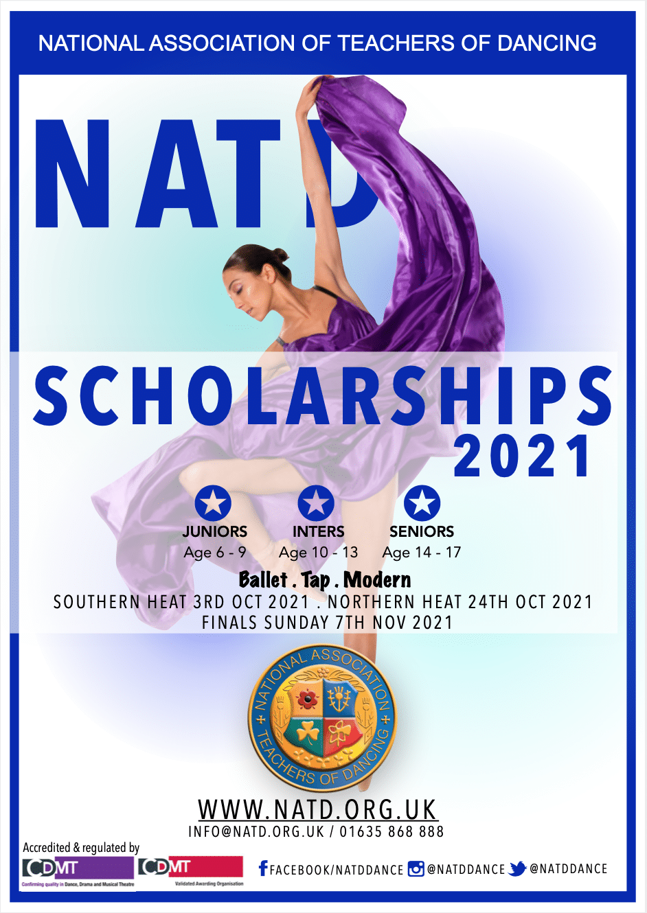 Ballet, Tap and Modern Scholarships
