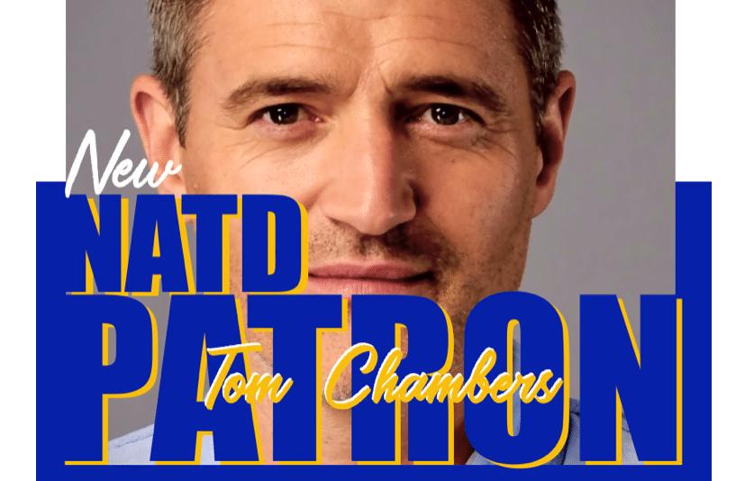 New NATD Patron Mr Tom Chambers